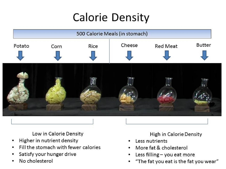 What is calorie density for Cuisine 0 calorie